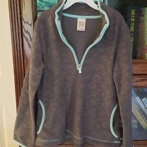 Faded Glory zipper, fleece pullover